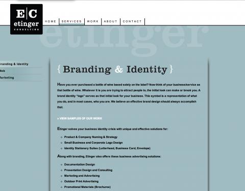 Etinger Consulting